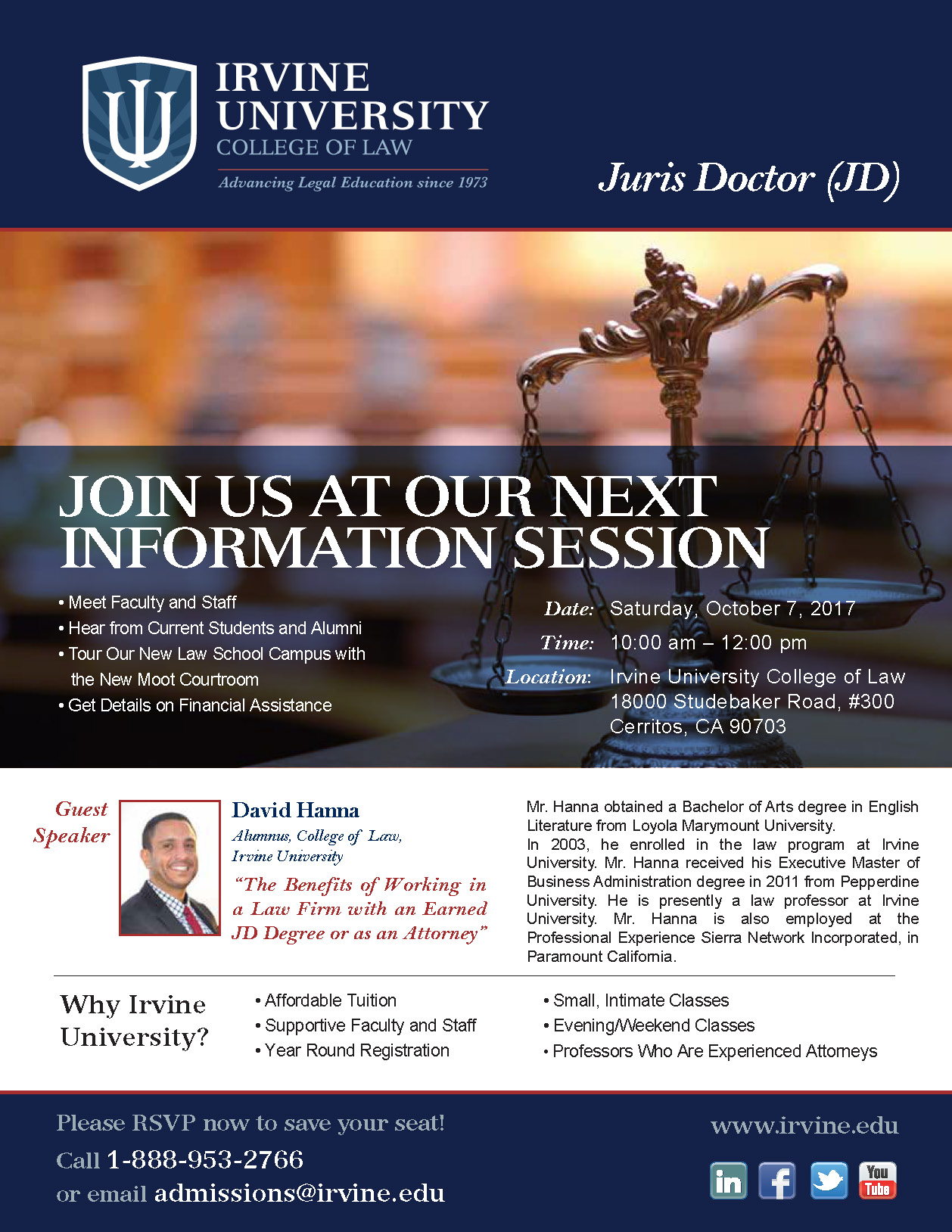 InfoSession Flier February2017